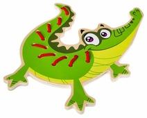 Шнуровка BONDIBON Крокодил (ВВ2190)