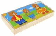 Рамка-вкладыш Мир деревянных игрушек Три медведя (Д164), 45 дет.