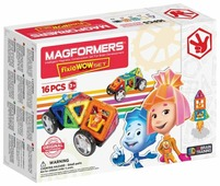 Магнитный конструктор Magformers Wow 770001 Фиксики