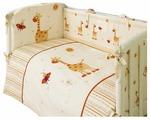 Комплект в кроватку PERINA Кроха Веселый кролик 4 предмета (К4-02.0)