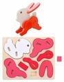 3D-пазл Kribly Boo Зверята Заяц (66477), 8 дет.