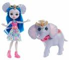 Кукла Enchantimals Екатерина Слоник с любимой зверюшкой, 15 см, FKY73