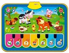 Музыкальный коврик Азбукварик Веселая ферма (4680019280288)