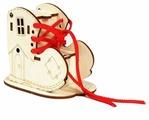Шнуровка Woody Башмачок (00679)