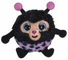 Мягкая игрушка 1 TOY Дразнюка-zooka Божья коровка 13 см