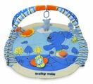 Развивающий коврик Baby Mix Мишка голубой (3240С)
