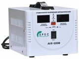 Стабилизатор напряжения однофазный Spec AVR-500M