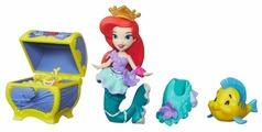 Набор Hasbro Disney Princess Маленькое королевство Ариэль и Флаундер, 8 см, B5336