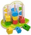 Пирамидка-сортер Мир деревянных игрушек Геометрические фигуры