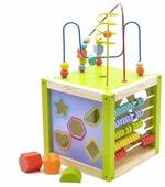 Развивающая игрушка Мир деревянных игрушек Универсальный куб
