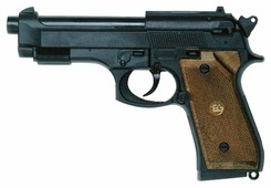 Пистолет Edison Giocattoli Police Matic Parabellum (263/26)