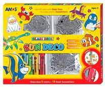 Набор для творчества AMOS Краски с витражами 22983 6 цв. (10.5 мл.)