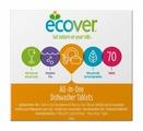 Ecover 3 в 1 таблетки для посудомоечной машины