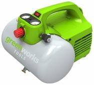 Компрессор greenworks GAC6L
