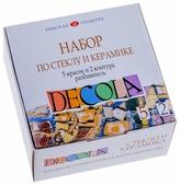 Краски Невская палитра Decola по стеклу и керамике 4041176 5 цв. (20 мл.)
