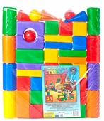 Кубики Строим вместе счастливое детство Стена-2 5248