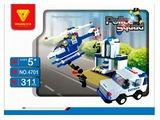 Конструктор DREAMLOCK Police Squad 4701 Полицейский патруль