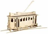 Сборная модель Чудо-Дерево Трамвай (80005)
