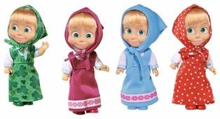 Кукла Simba Маша в сарафане 12 см 9301678
