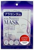 Japan Gals маска Pure 5 Essence с плацентой