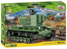 Конструктор Cobi Small Army World War II 2490 Танк КV-2