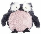 Мягкая игрушка Gulliver Сова серо-розовая 21 см