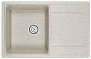 Врезная кухонная мойка Granula 7804 78х50см искусственный гранит