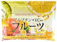 Japan Gals натуральная маска с фруктовыми экстрактами