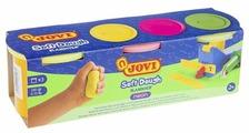 Масса для лепки JOVI Blandiver Neon 3 цвета по 110 г (403F)