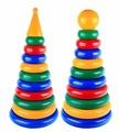 Пирамидка Строим вместе счастливое детство Гигант (шар большой, конус)
