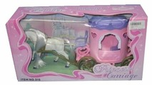 Shantou Gepai карета с лошадью Принцесс (315)