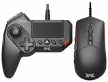 Клавиатура и мышь HORI T.A.C. Grips Black USB