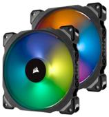 Система охлаждения для корпуса Corsair ML140 PRO RGB LED Twin Pack