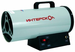 Газовая тепловая пушка Интерскол ТПГ-15 (15 кВт)