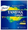 Тампоны TAMPAX Compak Regular 16 штук (4015400219507)