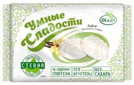 Зефир Умные сладости ванильный со стевией 150 г