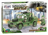 Конструктор Winner Tank Battle 1303 Боевая машина