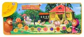 Музыкальный коврик Умка Маша и Медведь Во дворе у Маши (B965830-R)