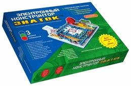 Электронный конструктор Знаток Для школы и дома