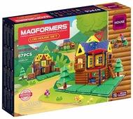 Магнитный конструктор Magformers House 705004 Бревенчатый домик