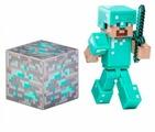 Игровой набор Jazwares Minecraft Стив в алмазной броне 16504