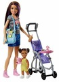 Кукла Barbie Skipper Babysitters Inc. Doll and Playset FJB00