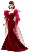 Кукла Barbie Унесенные ветром Скарлетт О Хара в исполнении Вивьен Ли в красном платье, BCP72