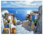 """Цветной Картина по номерам """"Морской вернисаж"""" 40х50 см (GX8858)"""