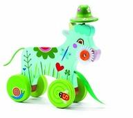 Каталка-игрушка DJECO Корова (06229)
