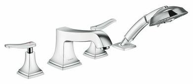 Двухрычажный смеситель для ванны с душем Hansgrohe Metropol Classic 31441000