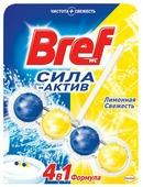 Bref туалетный блок Сила-Актив Лимонная свежесть
