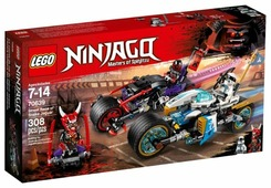 Конструктор LEGO Ninjago 70639 Уличная погоня