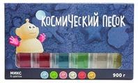 Кинетический песок Космический песок МИКС-набор 6 цветов KPM6015