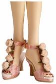Tonner Босоножки Graveside Roses Sandals для кукол Evangeline, Parnilla
